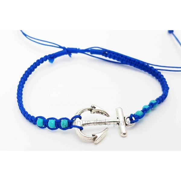 bracelet tress ancre marine bracelets ancre pas cher. Black Bedroom Furniture Sets. Home Design Ideas
