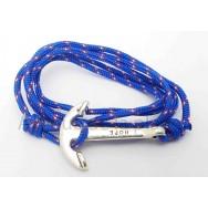 Bracelet Ancre Marine et corde