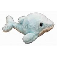 Peluche dauphin aux yeux brillants