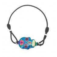 Bracelet Tête de mort mexicaine élastique