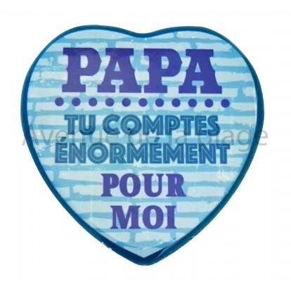 Magnet Coeur Papa