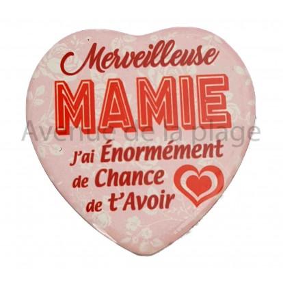 Magnet Coeur Merveilleuse Mamie