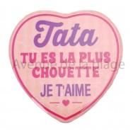 Magnet Coeur Tata je t'aime