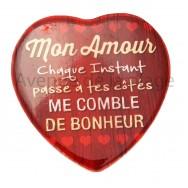 Magnet Coeur Mon Amour