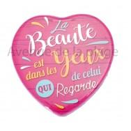 Magnet Coeur La Beauté