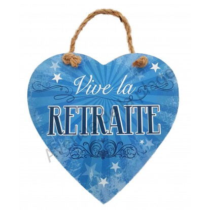 Coeur Message Vive La Retraite