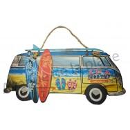 Van combi plage et surf à suspendre