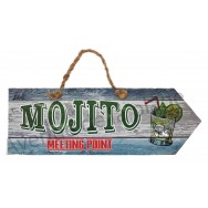 Pancarte Mojito Meeting Point