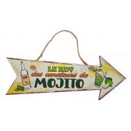 Flèche décorative Le RDV des amateurs de Mojito