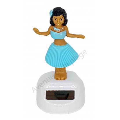 Danseuse Tahitienne solaire turquoise