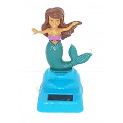 Figurine sirène solaire