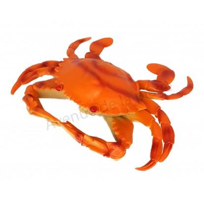 Crabe décoratif en plastique