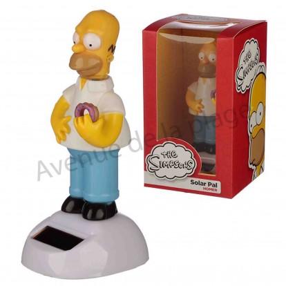 Homer Simpson solaire dansant