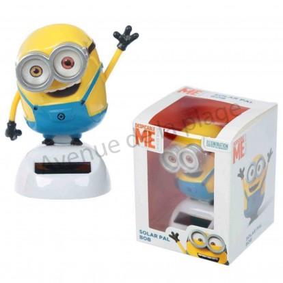 Figurine Minion Bob solaire dansant