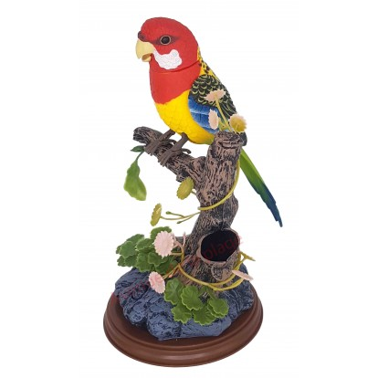 Perroquet sur branche sonore A