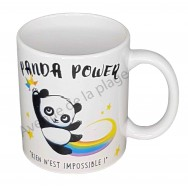 "Mug humoristique ""Panda Power"""