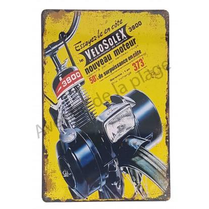 Plaque vintage Vélo Solex