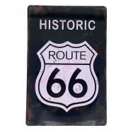 Plaque vintage Historic Route 66