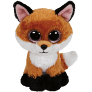 Peluche Ty Beanie Boo's Slick le renard 15 cm