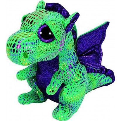 Peluche Ty Beanie Boo's Cinder le dragon 15 cm