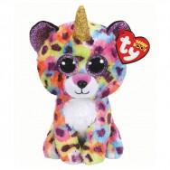 Peluche Ty Beanie Boo's Giselle le léopard licorne 16 cm