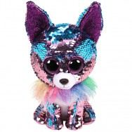 Peluche Ty Flippables Yappy le chihuahua 23 cm