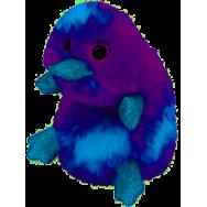 Peluche Ty Beanie Boo's Zappy l'ornithorynque mauve 26 cm