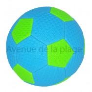 Ballon de football pour la plage fluo