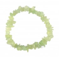 Bracelet élastique en Jade claire - Fortune