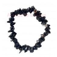 Bracelet élastique Onyx - Confiance