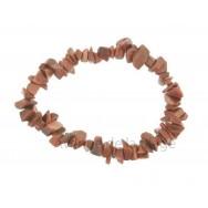 Bracelet élastique Aventurine or - Absorbe les ondes négatives