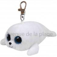 Peluche Ty Beanie Boo's porte clé Icy le phoque blanc