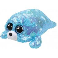 Peluche Ty Flippables Waves le phoque 19 cm