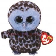 Peluche Ty Beanie Boo's Yago la chouette bleue 15 cm