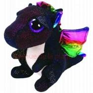 Peluche Ty Beanie Boo's Anora le dragon noir 14 cm