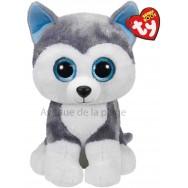 Peluche Ty Beanie Boo's Slush le chien husky 22 cm