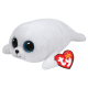 Peluche Ty Beanie Boo's Icy le phoque blanc 28 cm