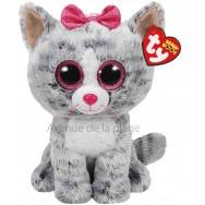Peluche Ty Beanie Boo's Kiki le chat 22 cm