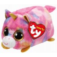 Peluche Teeny Ty Star la licorne rose