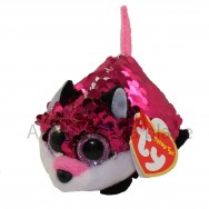 Peluche Teeny Ty flippables sequins Jewel le renard