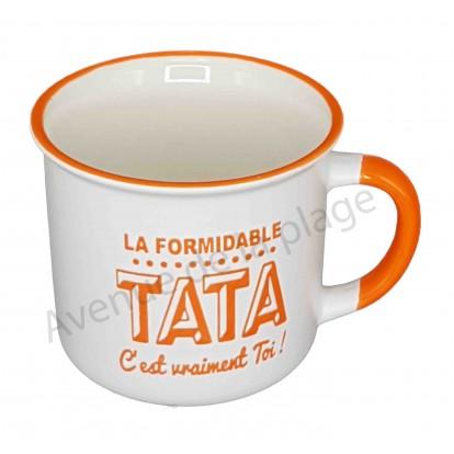 Mug La formidable Tata c'est vraiment toi