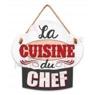 Pancarte La cuisine du chef