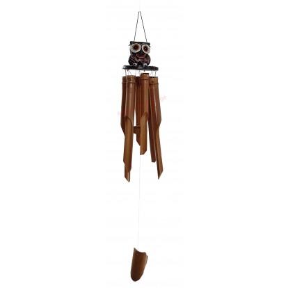 Carillon bambou chouette