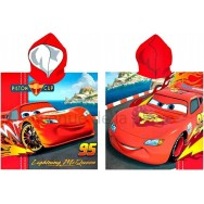 Poncho de bain Cars Flash McQueen