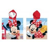 Poncho de bain Minnie à la plage