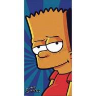 Serviette de plage Bart Simpson