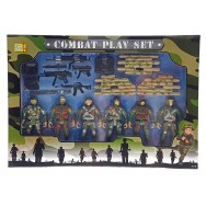 Set de soldats en plastique