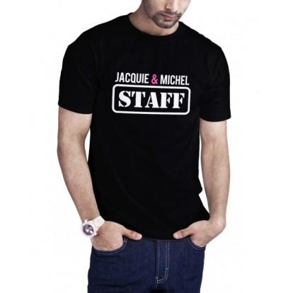 T-shirt humoristique Staff Jacquie et Michel