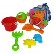 Sac à dos pour enfant et accessoires de plage