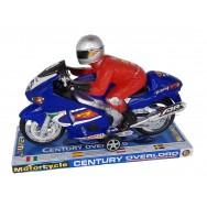 Moto à friction avec Pilote 24 cm
